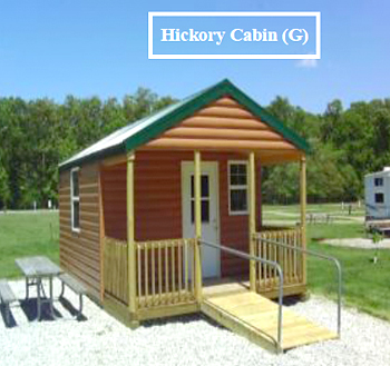 Hickory Cabin at Mill Creek Lake